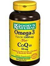 Good Natural Omega 3 Fish Oil Plus CoQ10 Review