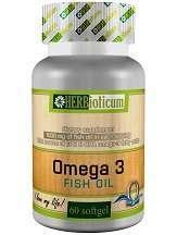 Herbioticum Omega 3 Fish Oil Review