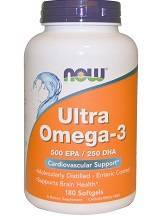 NOW Ultra Omega-3 Softgels