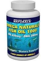 Omega Naturals Fish Oil 1000 Review