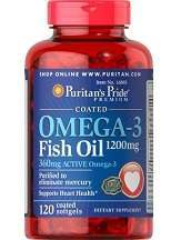Puritan's Pride Omega-3 Fish Oil Review